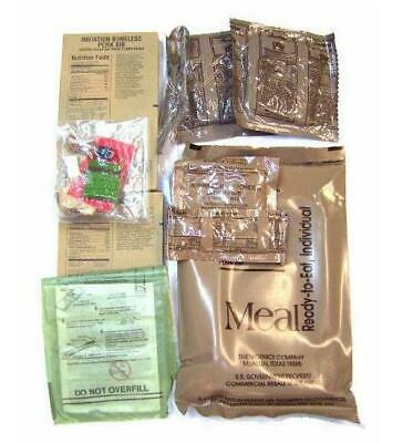US Military MRE Ration food Ration Pack ~ Menu 12 ~ Meal Ready to Eat Sealed