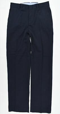 TOMMY HILFIGER Boys' Young Men's Smart Trousers, Navy Blue, sizes 16 18 Years
