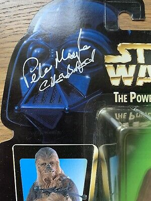 Star Wars Power Of The Force Chewbacca ***SIGNED BY PETER MAYHEW***
