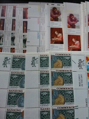 Us Postage Old Unused 10 Cent Stamps $84.20 Face Value Misc Sheets