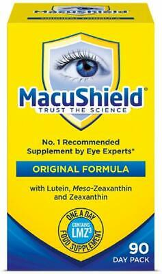 Macushield Capsules, Pack Of 90 Capsules One Day Recommended Eyes Supplement