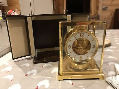 jaeger lecoultre atmos clock with Plaque On Back