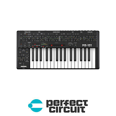 Behringer MS-1-BK Analog Synth (Black) SYNTHESIZER - NEW - PERFECT CIRCUIT