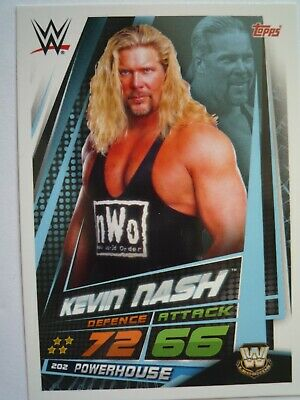 Topps Wwe Slam Attax Universe Legends Kevin Nash Comb Post