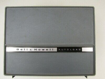 Vintage BELL & HOWELL Autoload 357B 8mm MOVIE PROJECTOR