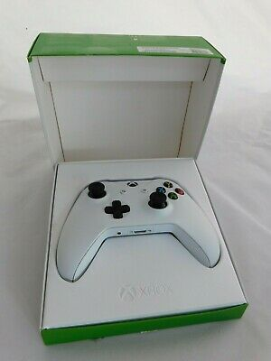 Microsoft Official Xbox One Wireless Controller Boxed White Free Postage