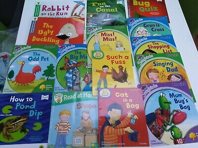Songbird Phonics books, Biff Chip and Kipper Books, Oxford Reading Tree Books