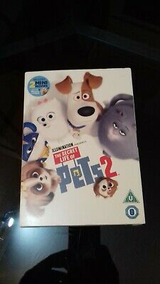 The Secret Life of Pets 2 [DVD]  new with slip cover
