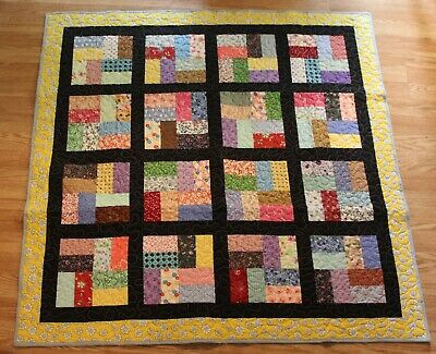 Handmade, baby, toddler, quilt, blanket, Multi-colors, quilted, gift, homemade