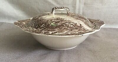 Johnson Bros Olde English Countryside Covered Vegetable Bowl