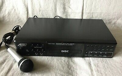 Audio2000 AVC7505 Recordable MP3+G PRO Karaoke Player W/ HDMI &VGA Output,1 Mic.