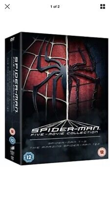 The Spider-Man Complete Five Film Collection [DVD] Free Delivery 🚚