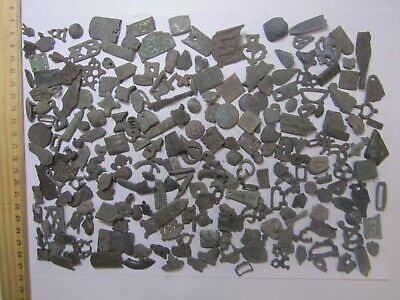 Collection of medieval finds (200 fragments) 9-16 centuries 100%original