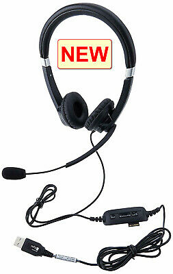 USB comfortable headset with quality sound made by Jabra, Skype, MS, Business
