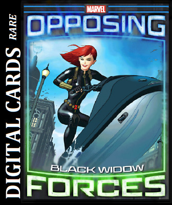 Topps Marvel Collect Card Trader Opposing Forces Black Widow Vs Taskmaster
