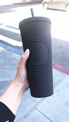 Fall 2019 Starbucks Matte Black Studded Tumbler Cup Limited Edition NEW SOLD OUT