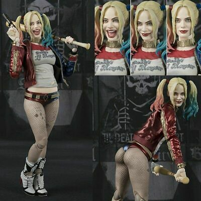 """S.H. Figuarts SHF Suicide Squad Harley Quinn 6"""" PVC Action Figure Toy New In Box"""