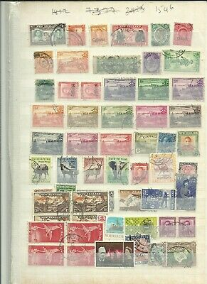 British commonwealth middle period used stamps