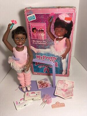 Vintage AA My Pretty Ballerina Doll by Tyco 1990 New With box Tested! BEAUTIFUL