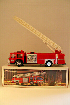 Hess Toy Fire Truck Bank - 1986