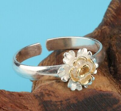 Unique 925 Silver Handmade Rose Lady Jewelry Fashion Trend Gift Collection