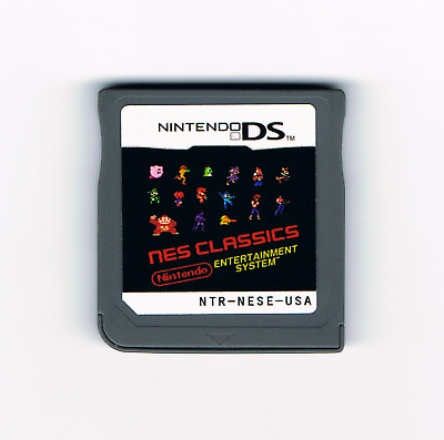 200-in-1 NES games multicart for Nintendo DS 3DS 2DS Classics multi cart card