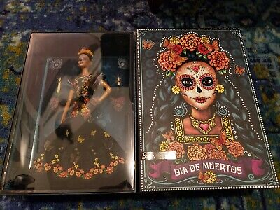 2019 Barbie Dia De Los Muertos Doll (Day Of The Dead) - New, In Hand Ships Now