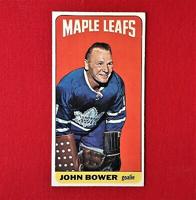 Johnny Bower - Tall Boy - 1964/65 - Toronto Maple Leafs - Topps Canada - #40