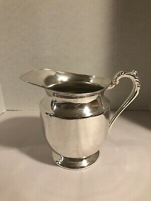 fb rogers silverplate Pitcher