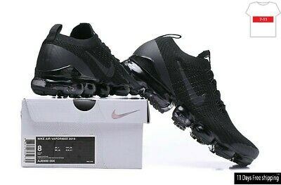 NIKE AIR VaporMax Flyknit 3.0 2019  MEN Black Running Trainers Shoes