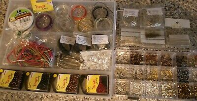 Large Collection Of Jewellery Making Kit
