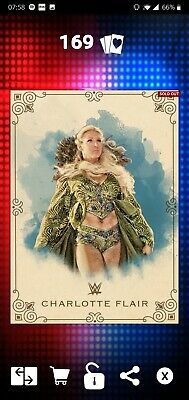 Topps WWE SLAM Digital 2017 Vintage Base Charlotte Flair 250CC