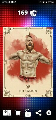 Topps WWE SLAM Digital 2017 Vintage Base Sheamus 250CC