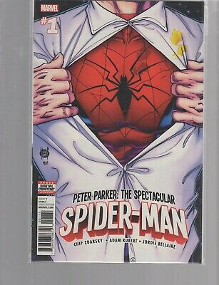 Peter Parker Spectacular Spiderman 1 ( 2017 )   More  Marvel Comics In Stock