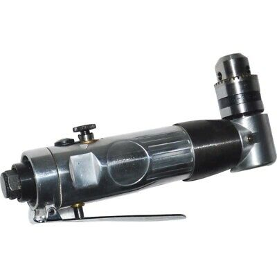 """INTBUYING Air Drill Reversible Drill 0.39"""" Drill Chuck Pneumatic Power Drilling"""