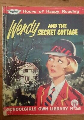 Schoolgirls Own Library No 365 -Wendy And The Secret Cottage- 1961