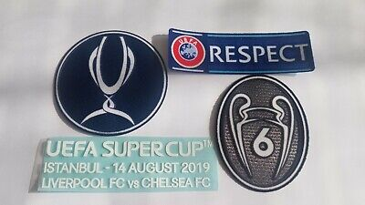 Uefa Super Cup 2019 Istanbul For Liverpool Jersey Patches Badges Match Details
