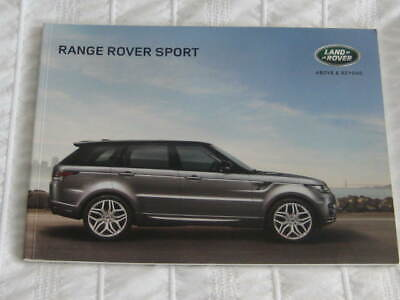 2014 Range Rover Sport 82 Page Brochure +Options  +Prices & Accesories