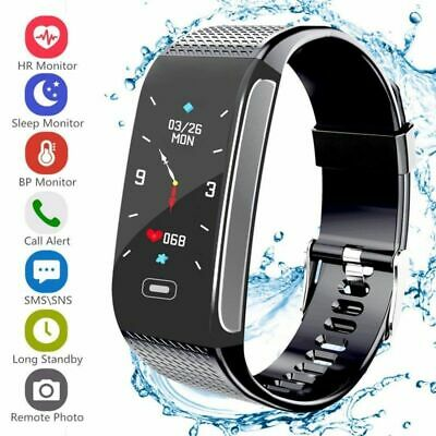 Smart Fitness Watch Activity Tracker Women Men Kids For IOS & Android Heartrate