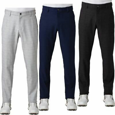 adidas Ultimate 365 Prime Heather Tapered Pants Mens Stretch Golf Trousers