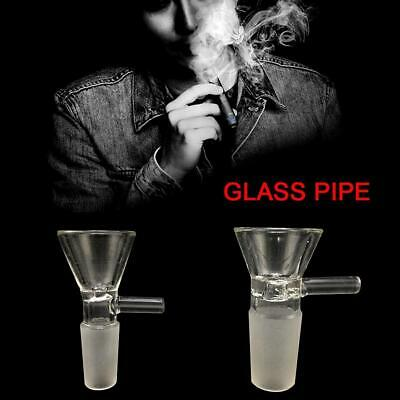 Thick Glass Slide Bowl Piece male clear 14mm Female&19mm Male T5W0