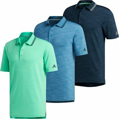 adidas Golf Ultimate 365 Textured Stripe Hommes Performance Polo Polo