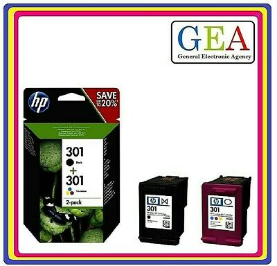 HP301 / HP301XL ORIGINALE, multipack o singolo colore, per HP DJ 1050,2050,3050.
