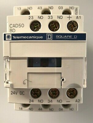 Telemecanique Square D Relay USED 24VDC CAD50 BD