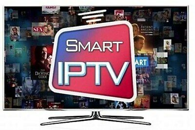 1 Month IPTV Subscription for Firestick & Smart TVs ⚽ Smart IPTV App Only ⚽