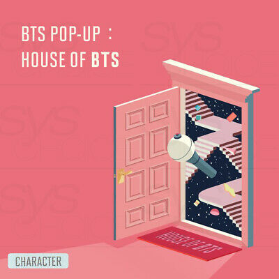 BTS POP-UP HOUSE OF BTS Official MD CHARACTER Ver + Tracking Number