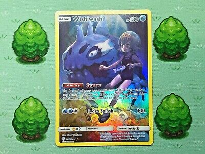 Pokemon - Wishiwashi - 240/236 - SM Cosmic Eclipse - Secret Rare