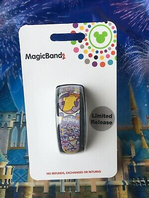 Disney Parks 2019 Figment Light Purple Limited Release Magic Band In Hand