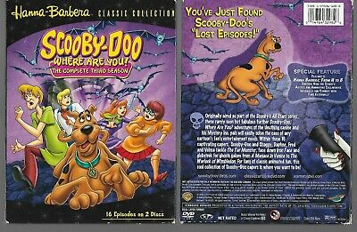 Scooby-Doo, Where Are You! Complete Third Season 3 DVD - FREE SHIPPING - 05/21
