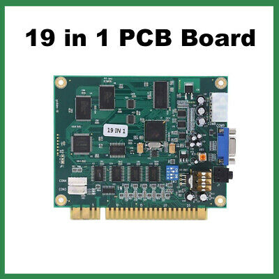 19 in 1 Arcade Multicade PCB Board FOR JAMMA Video Game CGA/VGA Classical AC732